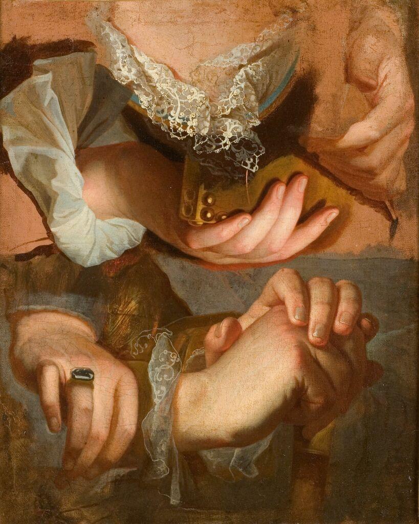 Hyacinthe Rigaud, Etudes de mains, vers 1715-1723