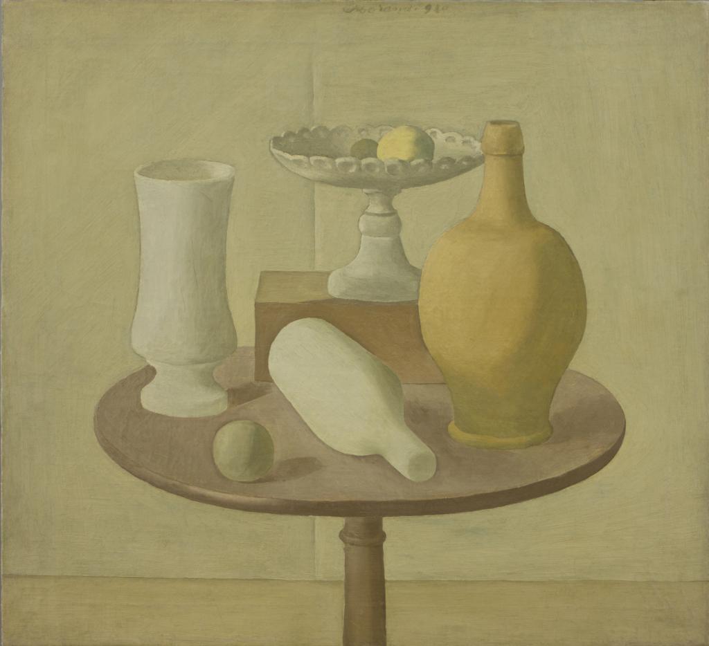 Giorgio Morandi, Nature morte, 1920
