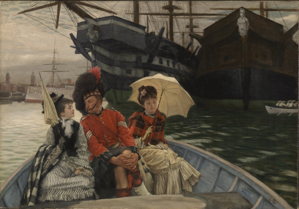 Exposition Orsay - James Tissot, Portsmouth Dockyard
