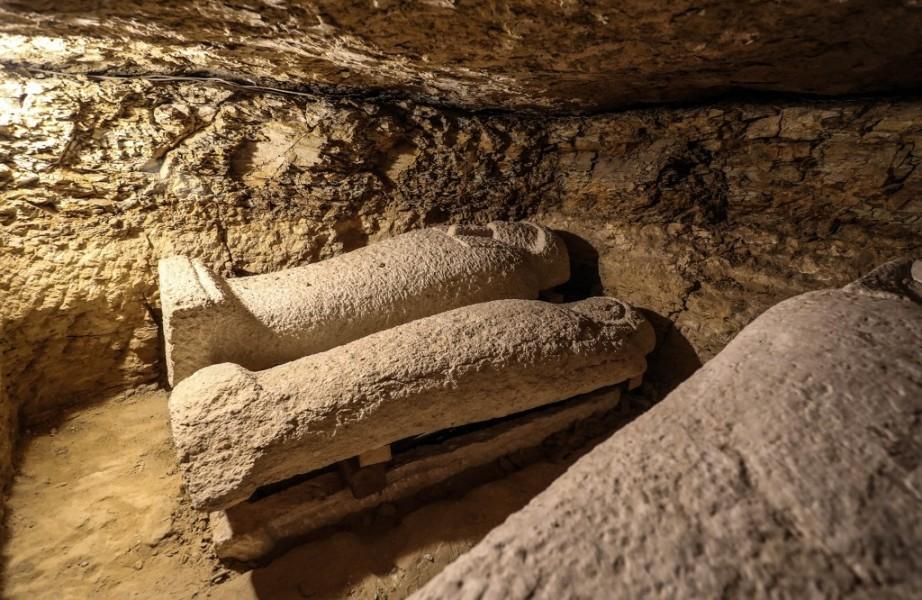 Les sarcophages sont vieux de 3000 ans