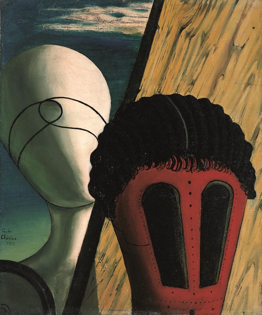 Giorgio de Chirico, Les deux soeurs (L'ange juif), 1915