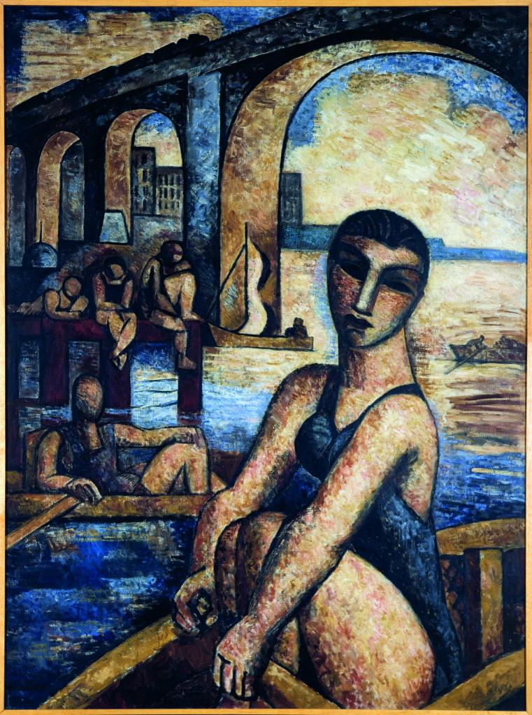 Musée La Piscine - Marcel Gromaire - Les bords de la Marne, 1925