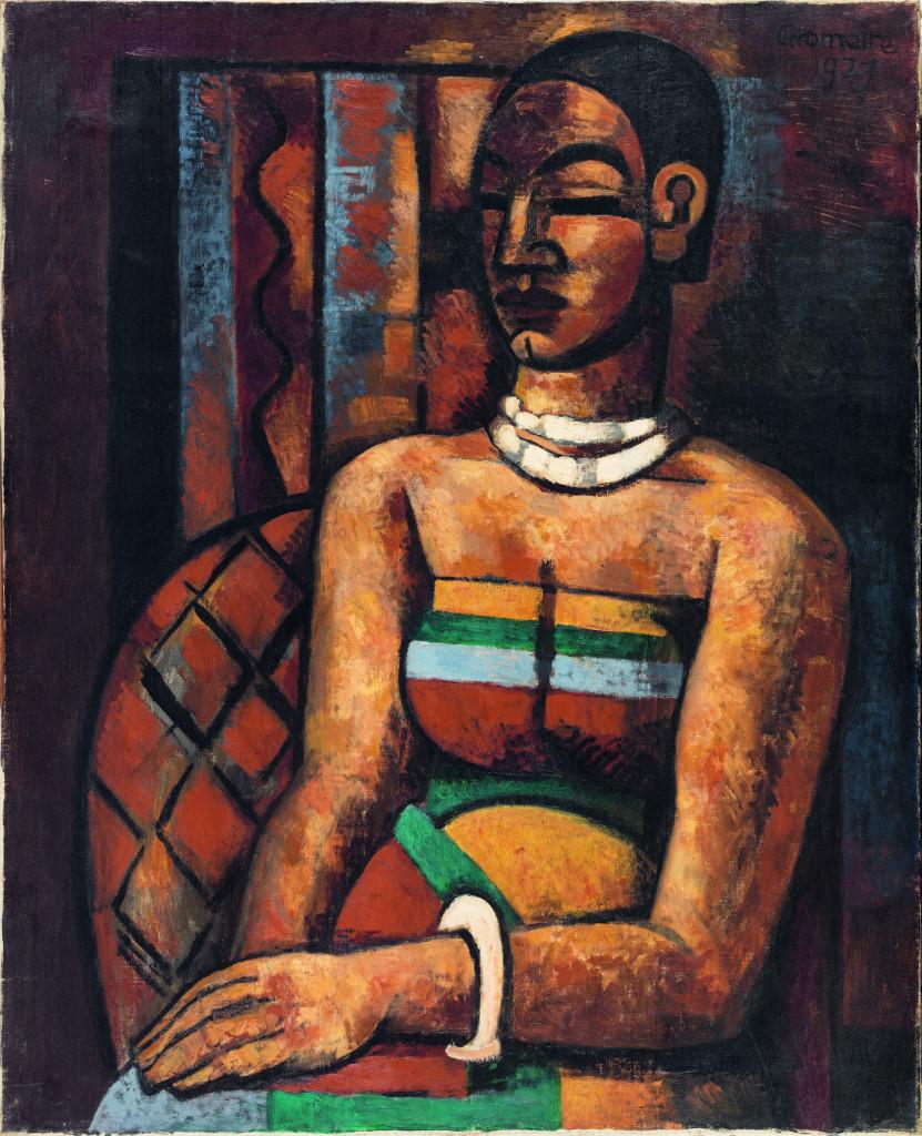 Musée La Piscine - Marcel Gromaire - Femme d'Asie, 1927.