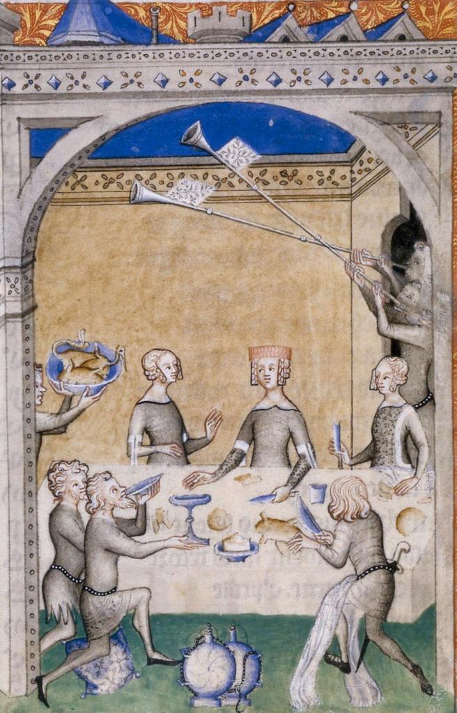 Un plat de luxe : le héron,Guillaume de Machaut,Œuvres