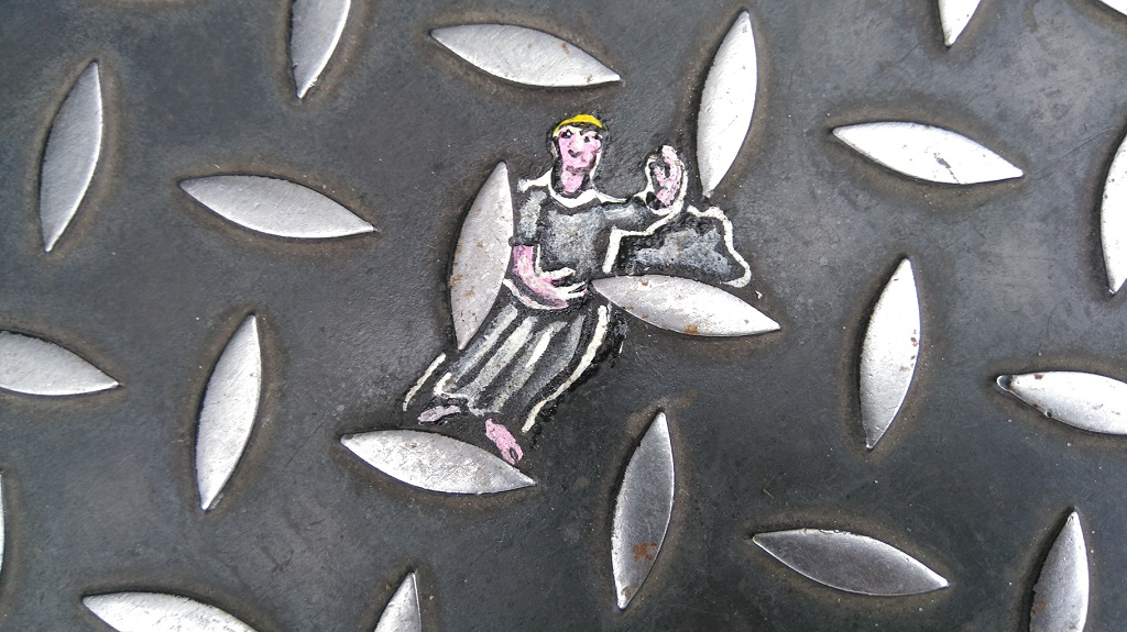 Ben Wilson chewing-gum man peintre