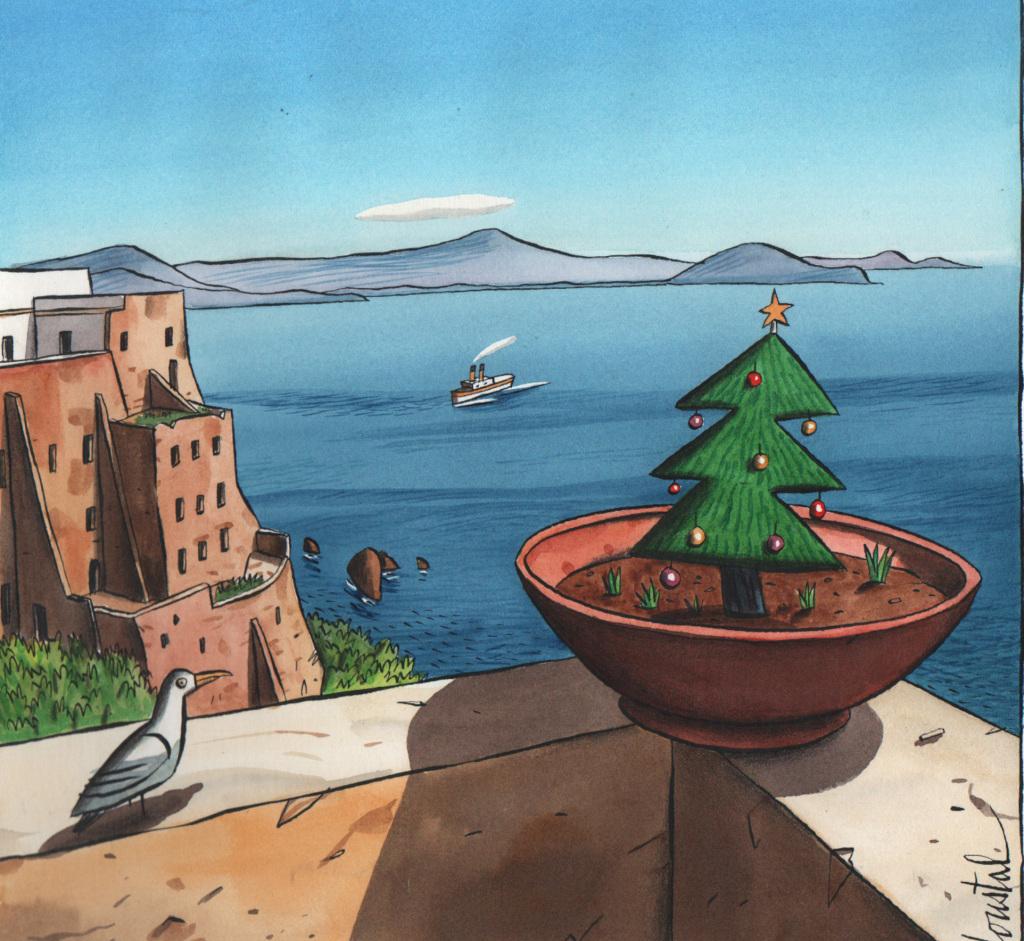 Loustal, Baie de Naples