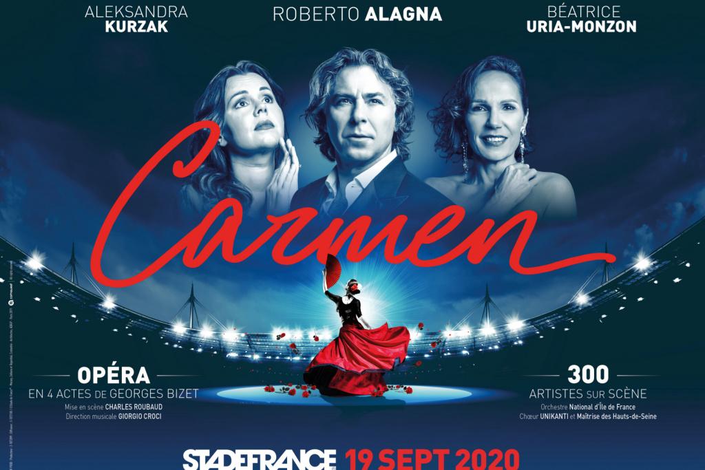 Spectacle Opéra Carmen Stade de France