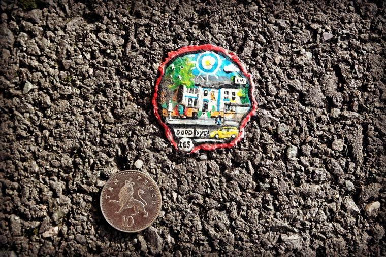 Chewing Gum Art Ben Wilson