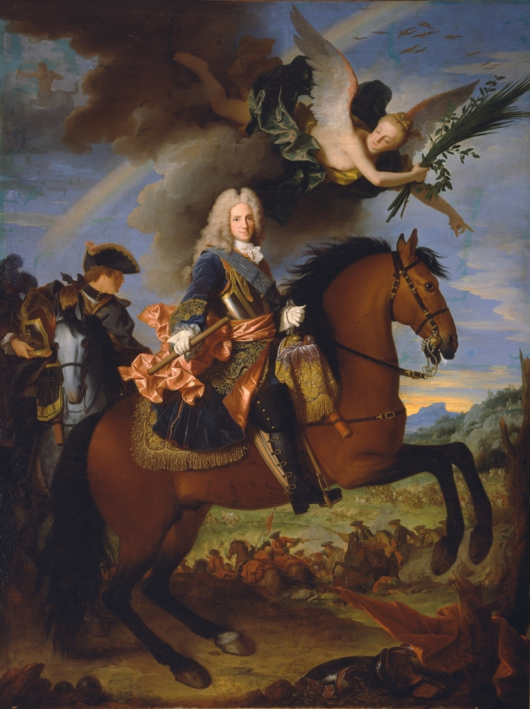 Jean Ranc, Portrait equestre Philippe V-Prado