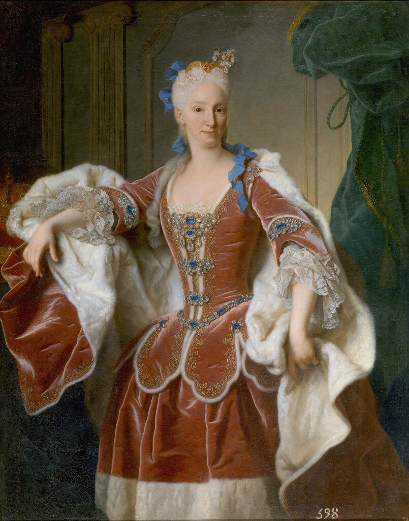 Jean Ranc, Portrait d'Elisabeth Farnèse