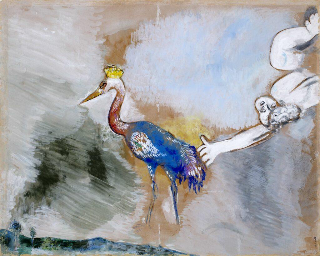 Chagall, Les grenouilles qui demandent un roi