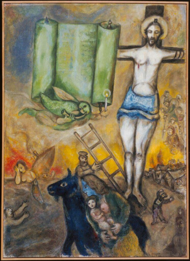 Marc Chagall, La Crucifixion en jaune, 1942