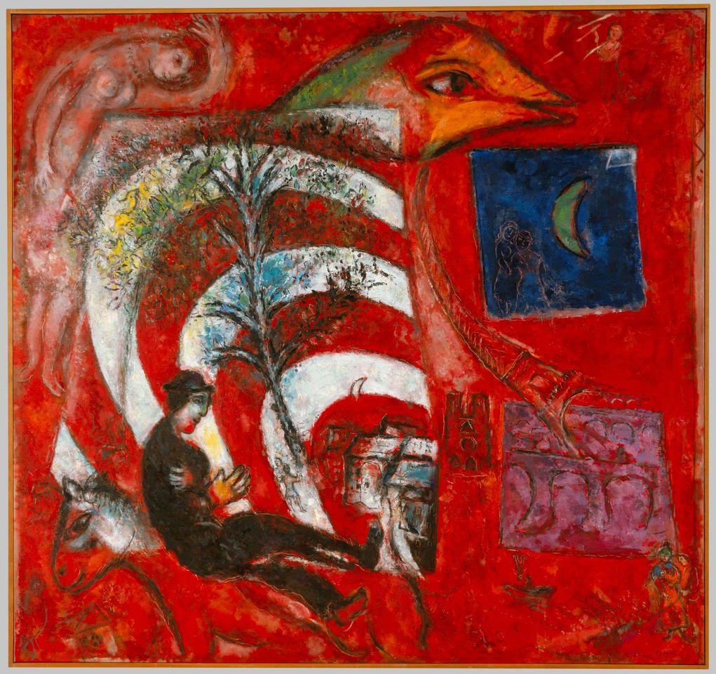 Marc Chagall, L'Arc-en-ciel, 1967