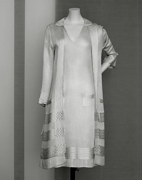 Ensemble robe et veste Chanel, entre 1922 et 1928