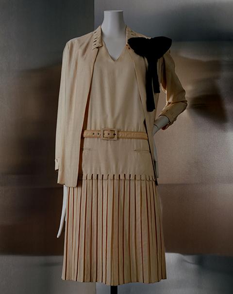 Ensemble robe et veste Chanel, 1926