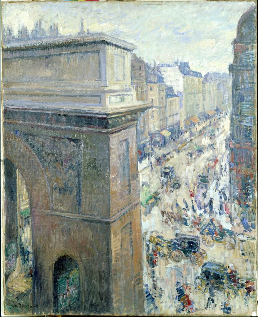 Exposition Hôtel-Dieu de Mantes-la-Jolie, Nicolas Tarkhoff, La porte Saint-Martin, Vers 1902