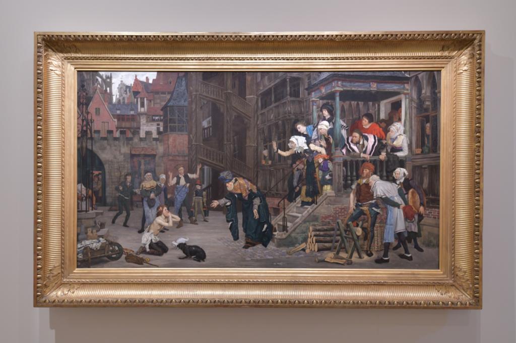 Vue de l'exposition James Tissot