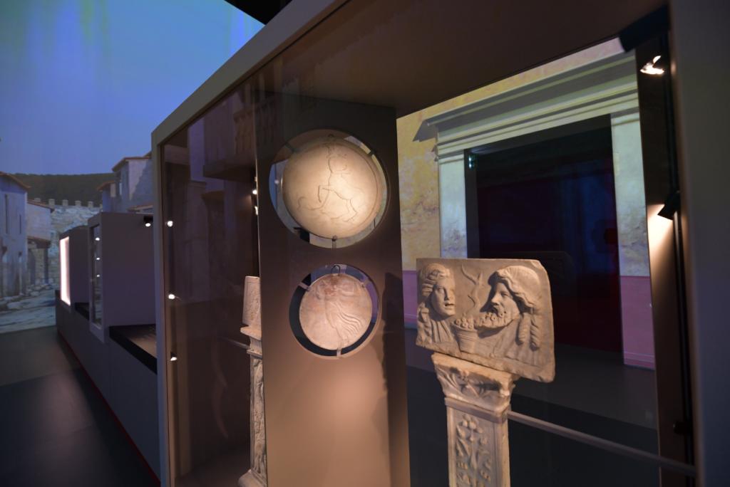 Vue de l'exposition Pompéi