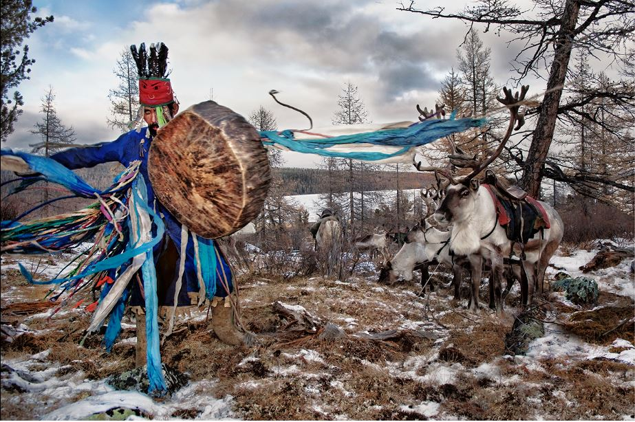 Hamid Sardar, Dancing Shaman - West taiga