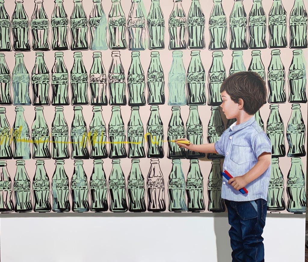 Javier Caraballo, L'art est une affaire d'enfants, 2019