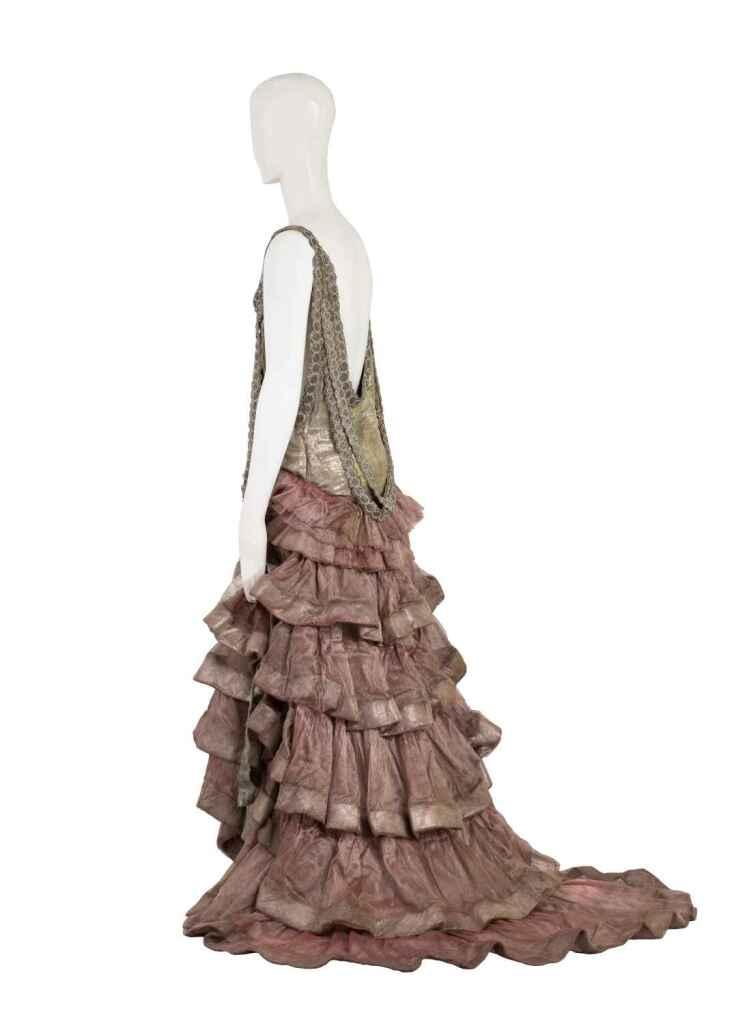 Jeanne Lanvin, « Apollo », robe du soir, 1925
