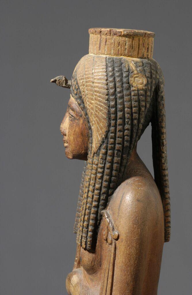 L'ancienne reine divinisée Ahmès Néfertari_Egypte_© Musée du Louvre