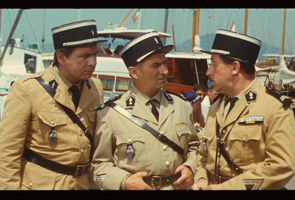 Le Gendarme de Saint-Tropez de Jean Girault