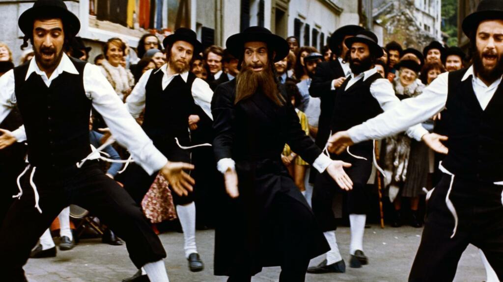 Les Aventures de Rabbi Jacob de Gérard Oury, 1973