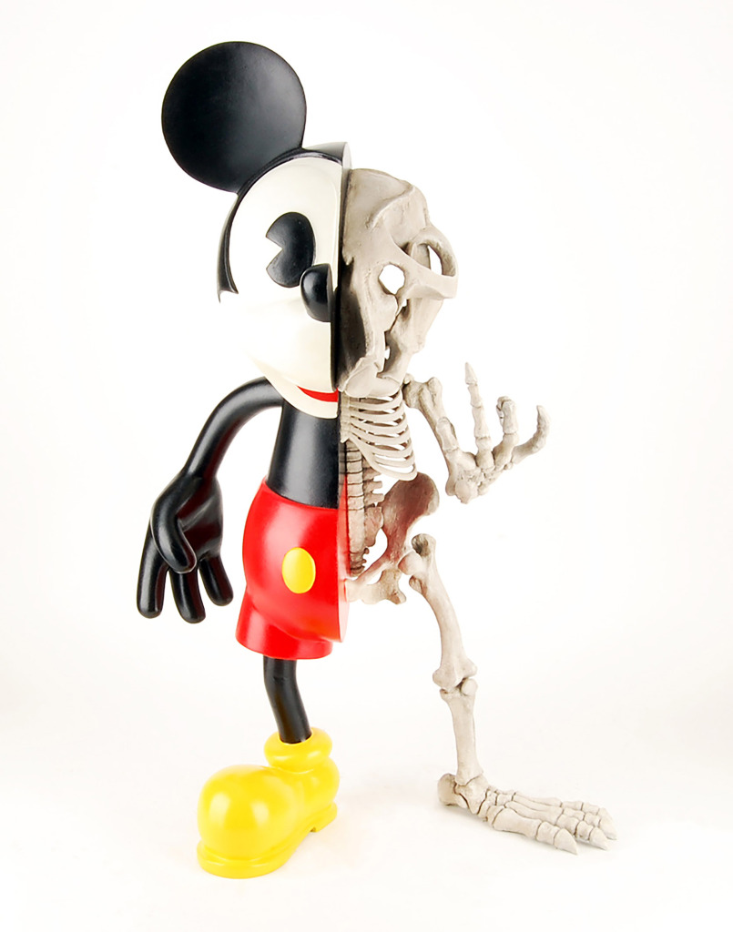 Nicolas Rubinstein, série « Mickey is also a rat » Micky fucky, 2010