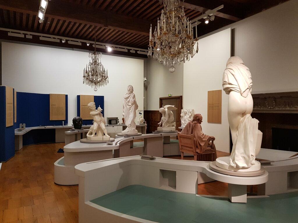 Musée de la révolution Française - Exposition L'art et la matière