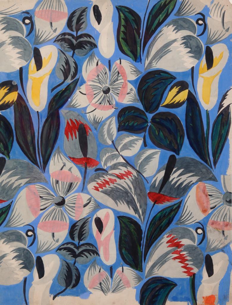Raoul Dufy les années folles-Musée des Beaux-Arts de Quimper-Cornets Arum