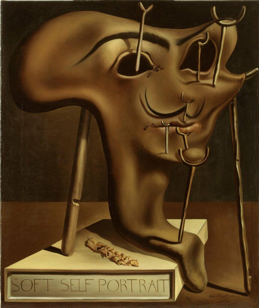 Salvador Dalí, Autoportrait mou, 1941