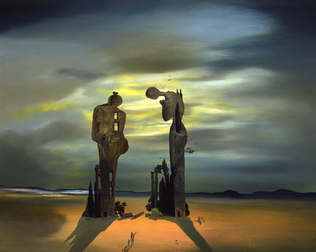 Salvador Dalí, Construction molle avec haricots bouillis, 1936