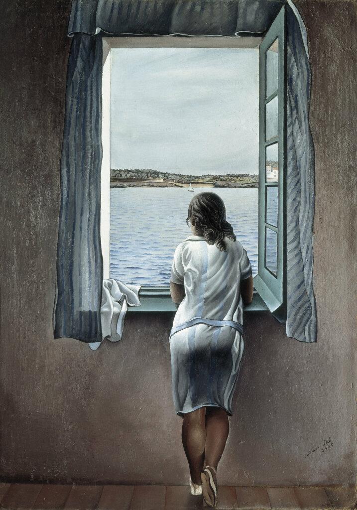 Salvador Dalí, Jeune fille à la fenêtre