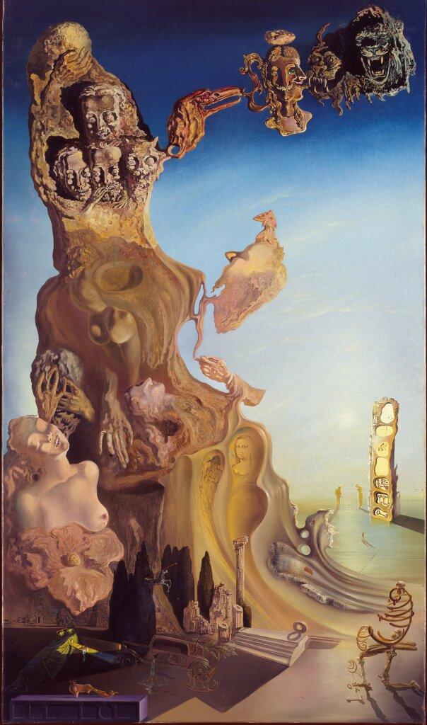 Salvador Dalí, La mémoire de la femme-enfant, 1929