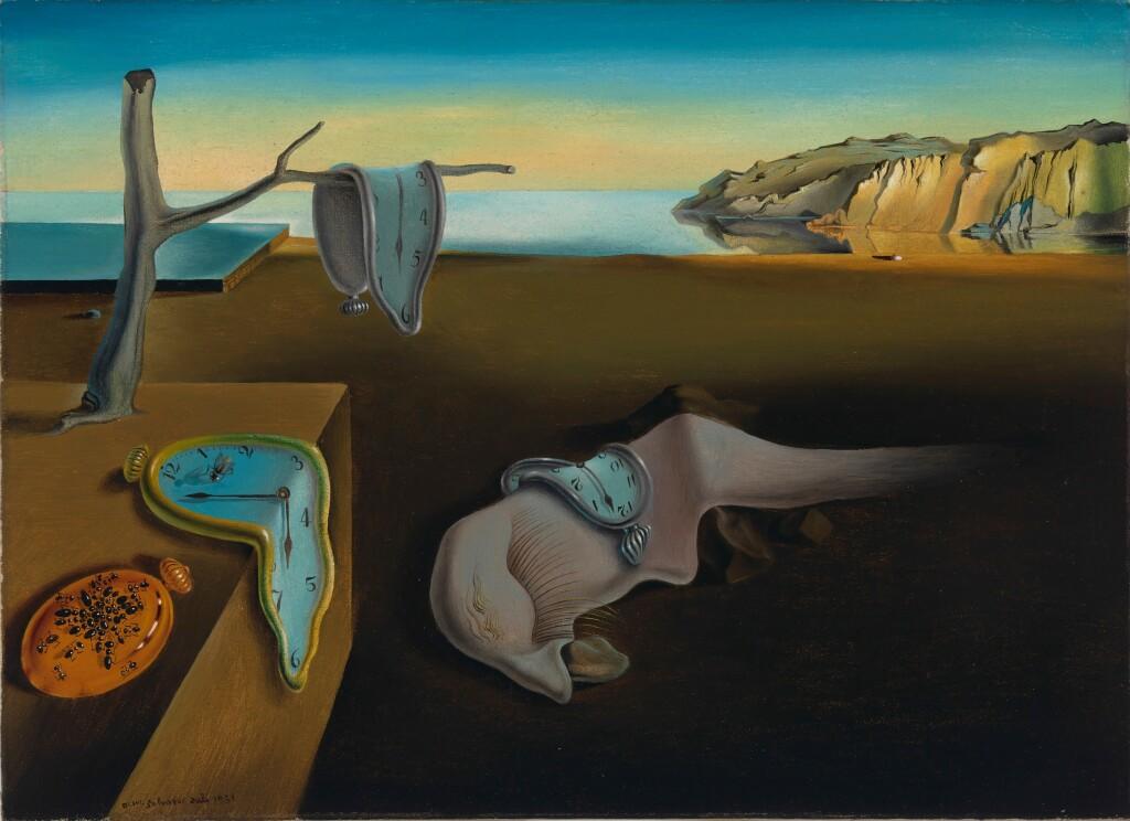 Salvador Dalí, La persistance de la memoire
