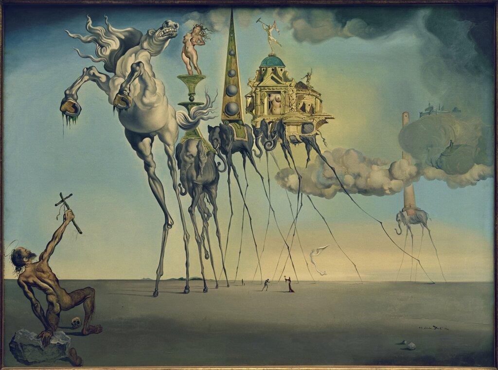 Salvador Dalí, La tentation de saint antoine