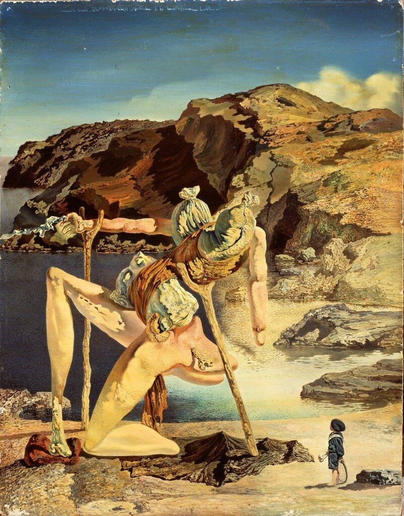 Salvador Dalí, Le spectre du sex-appeal, vers 1934
