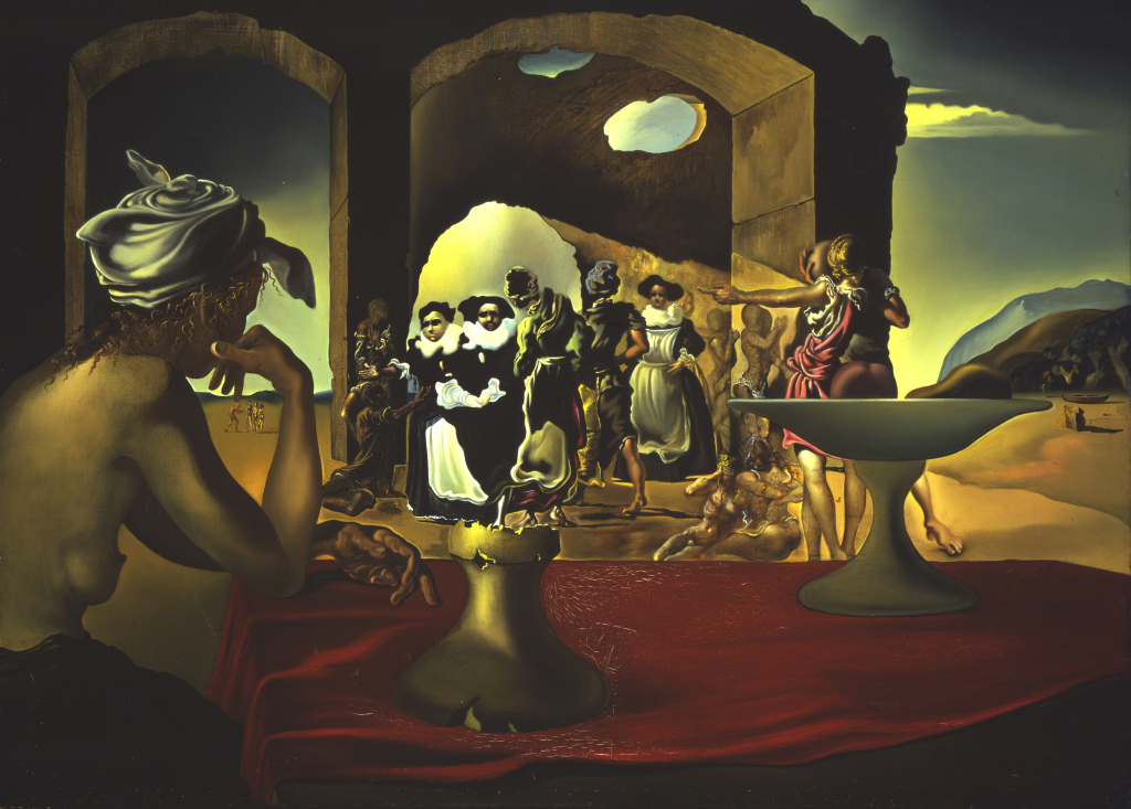 Salvador Dalí, Marché d'esclaves, 1940