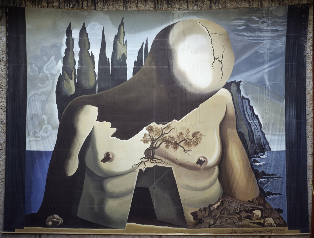 Salvador Dalí, Projet pour labyrinthe, 1941