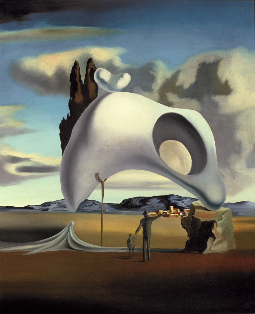 Salvador Dalí, Atavic Remains After the Rain Painting