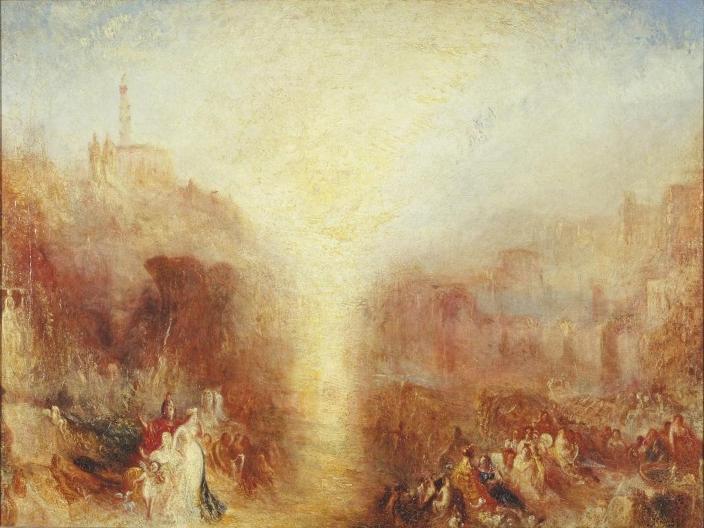 La Visite de la Tombe, Turner