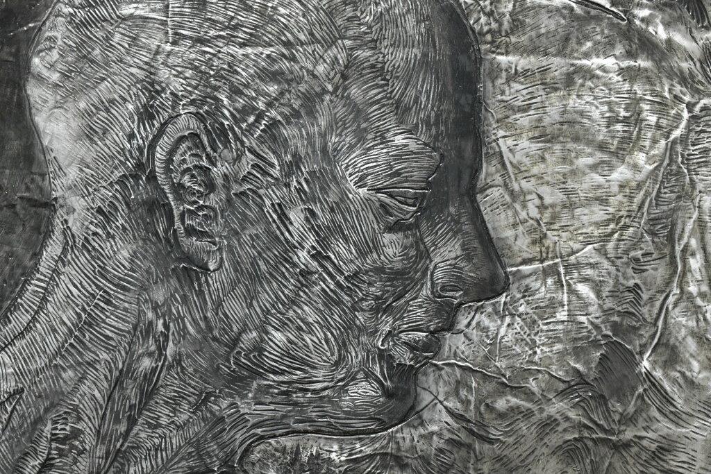 Vue de l'exposiiton Anton Tchékhov, mise en peinture à la galerie Boris Paris (4)