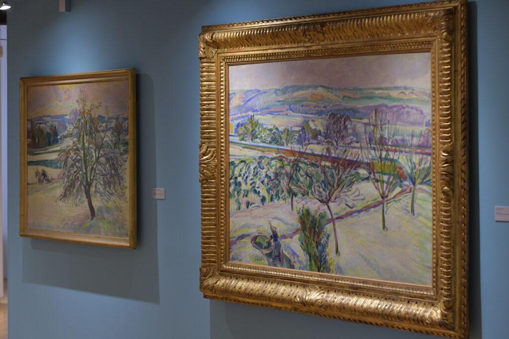 Vue de l'exposition Nicolas Tarkhoff au Musée de l'Hôtel-Dieu de Mantes-la-Jolie (11)