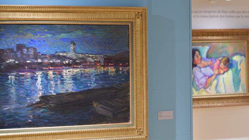 Vue de l'exposition Nicolas Tarkhoff au Musée de l'Hôtel-Dieu de Mantes-la-Jolie (4)