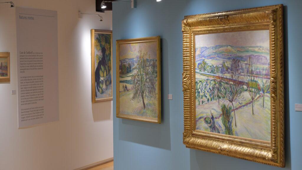 Vue de l'exposition Nicolas Tarkhoff au Musée de l'Hôtel-Dieu de Mantes-la-Jolie (6)