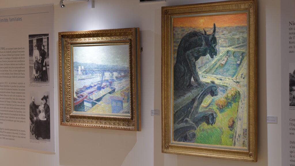 Vue de l'exposition Nicolas Tarkhoff au Musée de l'Hôtel-Dieu de Mantes-la-Jolie (8)