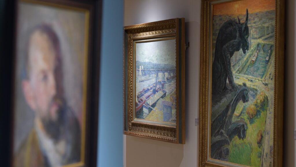 Vue de l'exposition Nicolas Tarkhoff au Musée de l'Hôtel-Dieu de Mantes-la-Jolie (1)