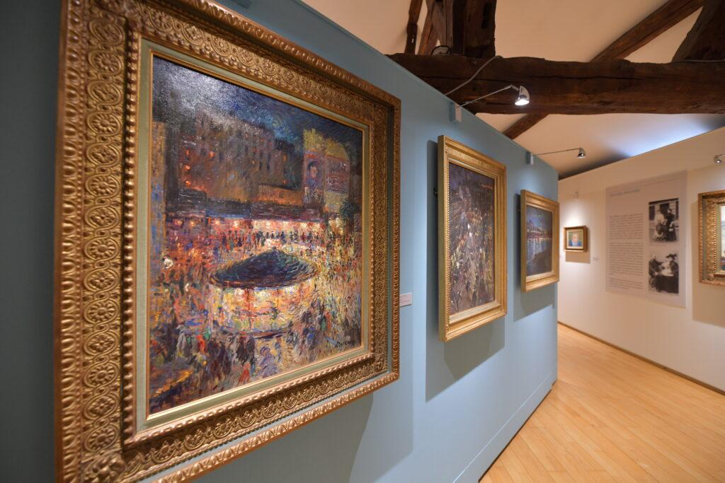 Vue de l'exposition Nicolas Tarkhoff au Musée de l'Hôtel-Dieu de Mantes-la-Jolie (3)