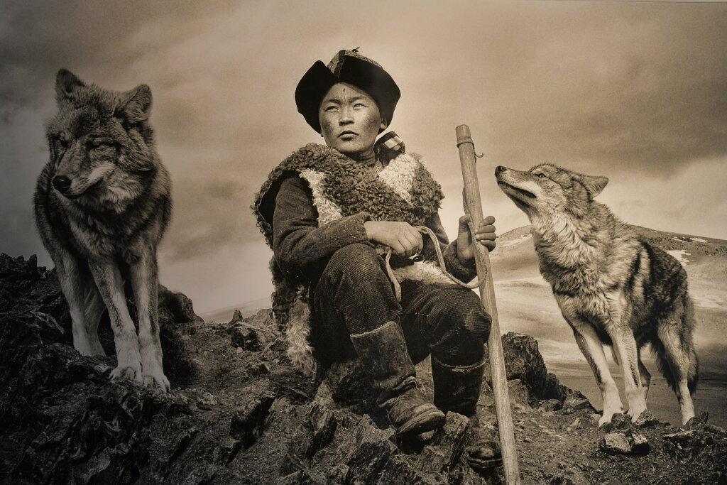 Hamid Sardar, Kazakh Wolf Boy